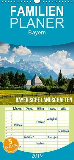 Bayerische Landschaften – Familienplaner hoch (Wandkalender 2019 , 21 cm x 45 cm, hoch) von Gospodarek,  Mikolaj