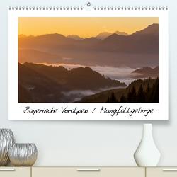 Bayerische Voralpen / Mangfallgebirge (Premium, hochwertiger DIN A2 Wandkalender 2020, Kunstdruck in Hochglanz) von Wenk,  Marcel