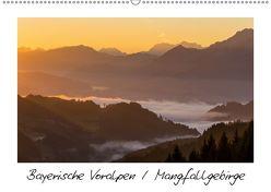 Bayerische Voralpen / Mangfallgebirge (Wandkalender 2019 DIN A2 quer) von Wenk,  Marcel