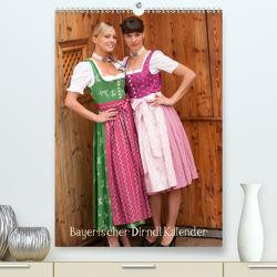 Bayerischer Dirndlkalender (Premium, hochwertiger DIN A2 Wandkalender 2021, Kunstdruck in Hochglanz) von STphotography