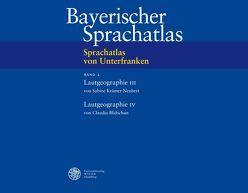Sprachatlas von Unterfranken (SUF) / Lautgeographie III: Langvokale. Lautgeographie VI: Diphtonge von Beichel,  Magdalena, Blidschun,  Claudia, Herbst,  Kristin, Scheuermann,  Julia