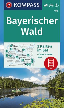 Bayerischer Wald von KOMPASS-Karten GmbH