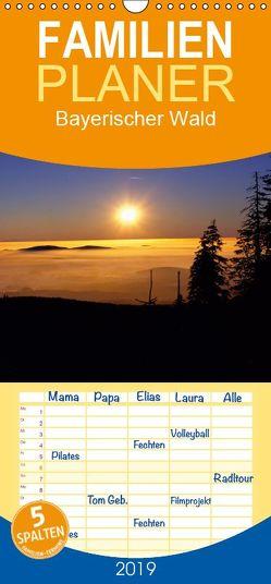 Bayerischer Wald – Familienplaner hoch (Wandkalender 2019 , 21 cm x 45 cm, hoch) von Matheisl,  Willy