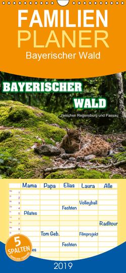 Bayerischer Wald – Familienplaner hoch (Wandkalender 2019 , 21 cm x 45 cm, hoch) von Thiele,  Ralf-Udo