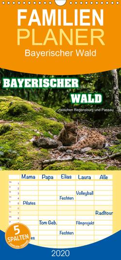 Bayerischer Wald – Familienplaner hoch (Wandkalender 2020 , 21 cm x 45 cm, hoch) von Thiele,  Ralf-Udo