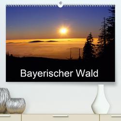 Bayerischer Wald (Premium, hochwertiger DIN A2 Wandkalender 2021, Kunstdruck in Hochglanz) von Matheisl,  Willy