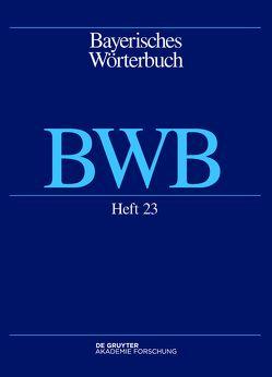 Bayerisches Wörterbuch (BWB) / Dacher – tamig von Bayerische Akademie der Wissenschaften, Denz,  Josef, Funk,  Edith, Rowley,  Anthony R, Schamberger-Hirt,  Andrea, Schnabel,  Michael