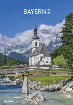 Bayern 2020 – Bildkalender (24 x 34) – Landschaftskalender – Regionalkalender – Wandkalender von ALPHA EDITION