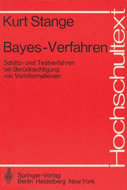 Bayes-Verfahren von Deutler,  T., Stange,  K., Wilrich,  P.-T.