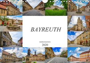 Bayreuth Impressionen (Wandkalender 2020 DIN A4 quer) von Meutzner,  Dirk