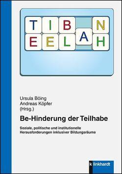 Be-Hinderung der Teilhabe von Böing ,  Ursula, Köpfer,  Andreas