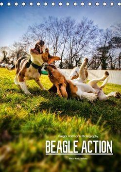 Beagle Action – Wilde Kuscheltiere (Tischkalender 2019 DIN A5 hoch)