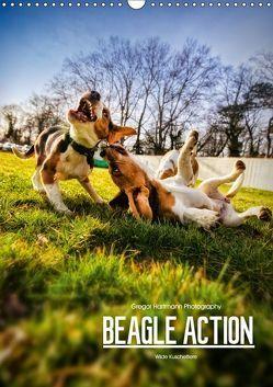 Beagle Action – Wilde Kuscheltiere (Wandkalender 2019 DIN A3 hoch) von Hartmann,  Gregor