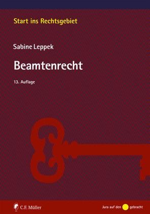 Beamtenrecht von Leppek,  Sabine