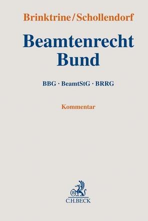 Beamtenrecht Bund von Brinktrine,  Ralf, Schollendorf,  Kai