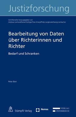 Bearbeitung von Daten über Richterinnen und Richter von Bieri,  Peter