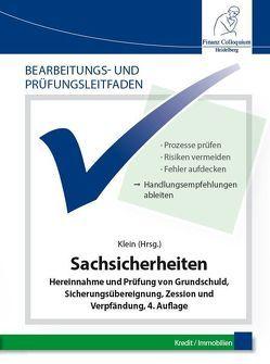 Bearbeitungs- und Prüfungsleitfaden: Sachsicherheiten von Klein,  Dr. Jochen