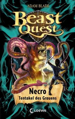Beast Quest 19 – Necro, Tentakel des Grauens von Blade,  Adam, Eckersley,  Julia