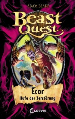 Beast Quest 20 – Ecor, Hufe der Zerstörung von Blade,  Adam, Eckersley,  Julia