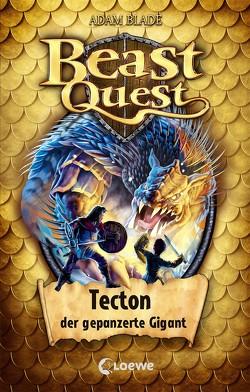 Beast Quest 59 – Tecton, der gepanzerte Gigant von Blade,  Adam, Margineanu,  Sandra