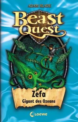 Beast Quest 7 – Zefa, Gigant des Ozeans von Blade,  Adam, Wiese,  Petra