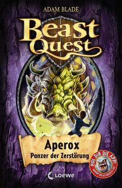 Beast Quest – Aperox, Panzer der Zerstörung von Blade,  Adam, Margineanu,  Sandra