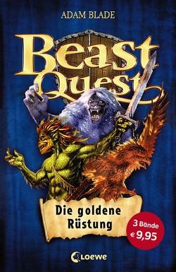 Beast Quest – Die goldene Rüstung von Blade,  Adam, Wiese,  Petra