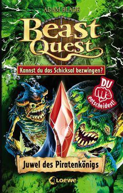 Beast Quest – Juwel des Piratenkönigs von Blade,  Adam, Margineanu,  Sandra