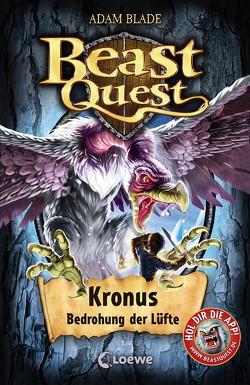 Beast Quest – Kronus, Bedrohung der Lüfte von Blade,  Adam, Margineanu,  Sandra