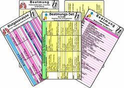 Beatmungs-Karten-Set für Kinder, Säuglinge, Früh- & Neugeborene – Medizinische Taschen-Karte