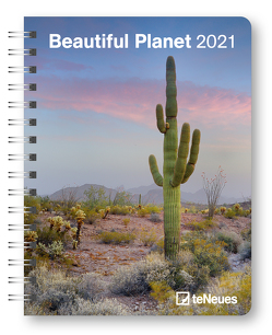Beautiful Planet 2021 – Buchkalender – Taschenkalender – Fotokalender – 16,5×21,6
