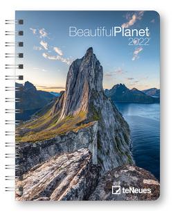 Beautiful Planet 2022 – Buchkalender – Taschenkalender – Fotokalender – 16,5×21,6