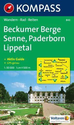 Beckumer Berge – Senne – Paderborn – Lippetal von KOMPASS-Karten GmbH