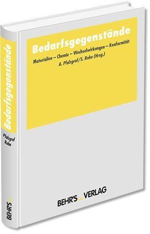 Bedarfsgegenstände von Pfalzgraf,  Dr. Andreas, Rohn,  Prof. Dr. Sascha