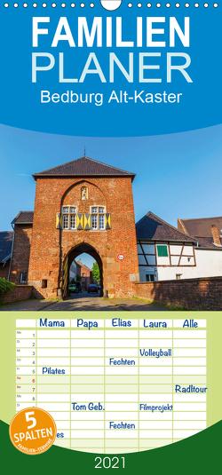 Bedburg Alt-Kaster – Familienplaner hoch (Wandkalender 2021 , 21 cm x 45 cm, hoch) von Müller,  Christian