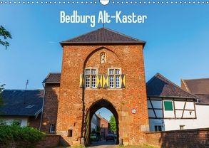 Bedburg Alt-Kaster (Wandkalender 2018 DIN A3 quer) von Müller,  Christian
