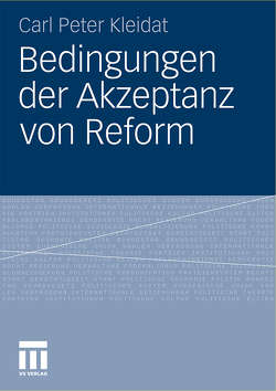 Bedingungen der Akzeptanz von Reform von Kleidat,  Carl Peter