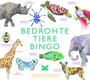Bedrohte Tiere Bingo von George,  Marcel, Williams,  Lizzie