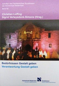 Bedürfnissen Gestalt geben von Loffing,  Christian, Verleysdonk-Simons,  Sigrid