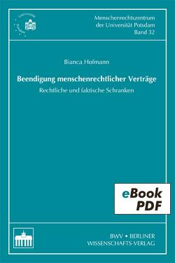 Beendigung menschenrechtlicher Verträge von Hofmann,  Bianca
