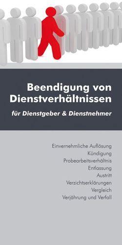 Beendigung von Dienstverhältnissen von Brandl,  Christoph