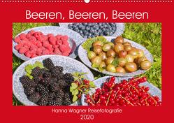 Beeren, Beeren, Beeren (Wandkalender 2020 DIN A2 quer) von Wagner,  Hanna
