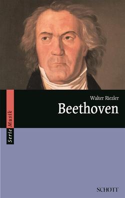 Beethoven von Riezler,  Walter