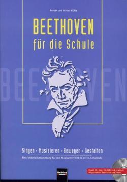 Beethoven für die Schule – Buch und Audio-CDs + App von Kern,  Renate, Kern,  Walter