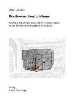 Beethovens Konzerträume von Weinzierl,  Stefan