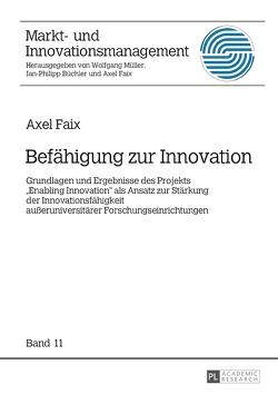 Befähigung zur Innovation von Faix,  Axel