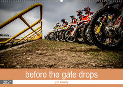 before the gate drops (Wandkalender 2021 DIN A2 quer) von Fitkau Fotografie & Design,  Arne