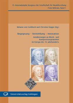 Begegnung – Vermittlung – Innovation von Hoppe,  Christine, von Goldbeck,  Melanie