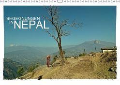 BEGEGNUNGEN IN NEPAL (Wandkalender 2019 DIN A3 quer) von Wurm,  Achim