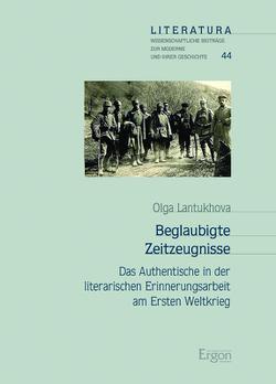 Beglaubigte Zeitzeugnisse von Lantukhova,  Olga